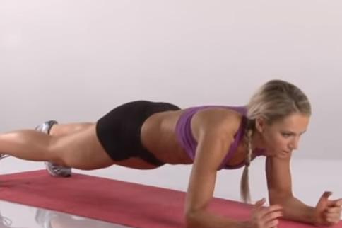 做平板支撑的好处多久可以减肚子